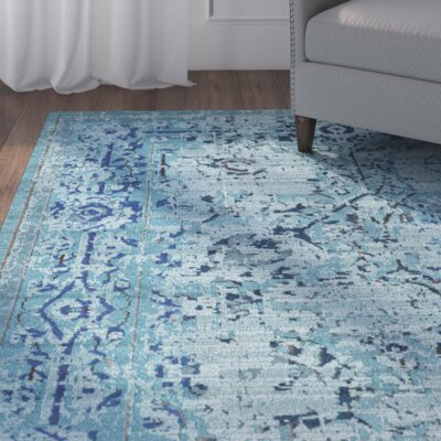 Roshan Light Blue Area Rug