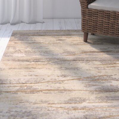 Essex Ivory Area Rug Rug Size: Rectangle 4 x 6