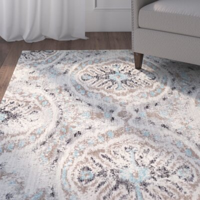 Alstrom Silver Area Rug Rug Size: 8 x 10