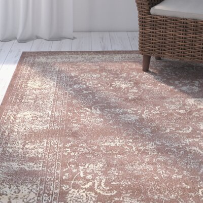 Vikram Brown Area Rug Rug Size: Rectangle 5 x 8