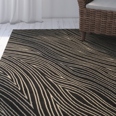 Wren Black/Tan Area Rug