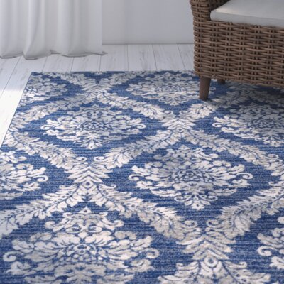Hillsby Blue/Gray Area Rug Rug Size: Runner 2'7