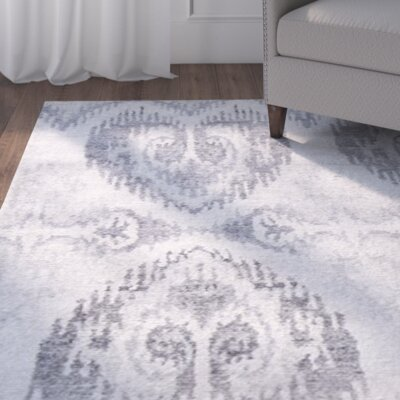 Arjun Hand-Knotted Sterling Area Rug