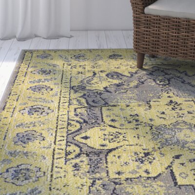 Iris Gray Area Rug Rug Size: Rectangle 8 x 10