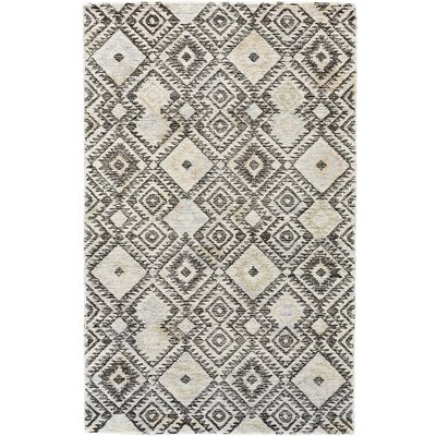 Bedford Hand-Tufted Gray/Pastel Area Rug Rug Size: Rectangle 5 x 8