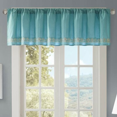 Marlee Embroidered 50 Light-filtering Curtain Valance