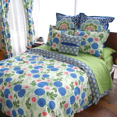 Sarah 2 Piece Reversible Duvet Set Size: Full/Queen