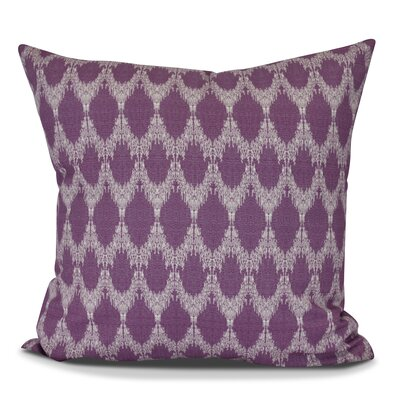Molly Peace 2 Geometric Outdoor Throw Pillow Size: 16