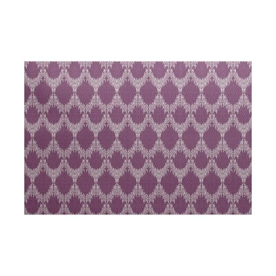 Arlo Geometric Purple Area Rug Rug Size: 4 x 6