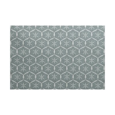 Arlo Geometric Green Area Rug Rug Size: Rectangle 3 x 5