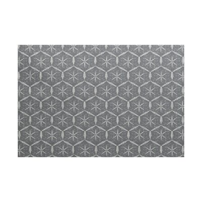 Arlo Geometric Black Area Rug Rug Size: Rectangle 3 x 5
