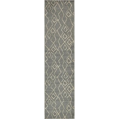 Branson Gray Indoor Area Rug Rug Size: Runner 26 x 10