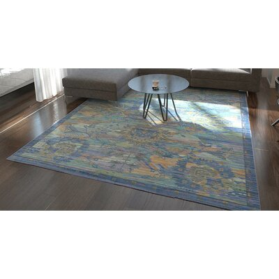 Rune Blue Indoor Area Rug