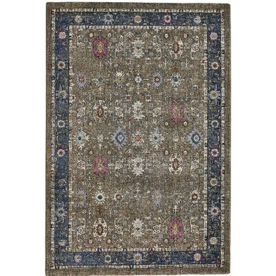 Nolan Brown Area Rug Rug Size: 10 x 14