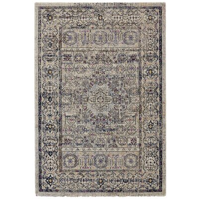 Nolan Vanilla/Ice Area Rug Rug Size: Rectangle 710 x 1010