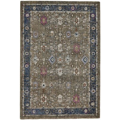 Nolan Brown Area Rug Rug Size: 53 x 77