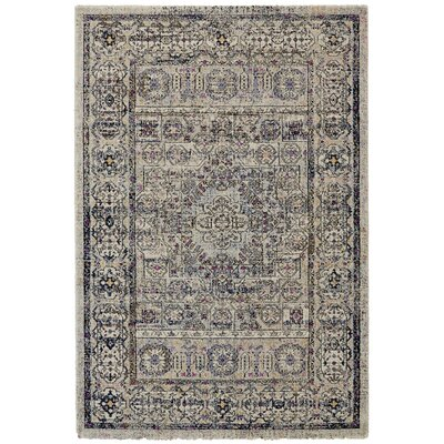 Nolan Vanilla/Ice Area Rug Rug Size: Rectangle 22 x 4