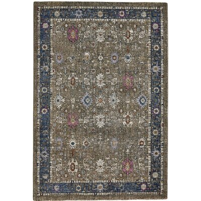Nolan Brown Area Rug Rug Size: Round 710