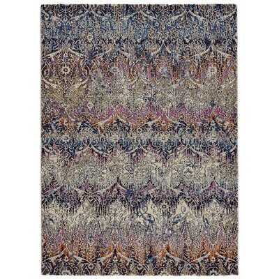 Nolan Magenta/Sunset Area Rug Rug Size: Rectangle 10 x 14