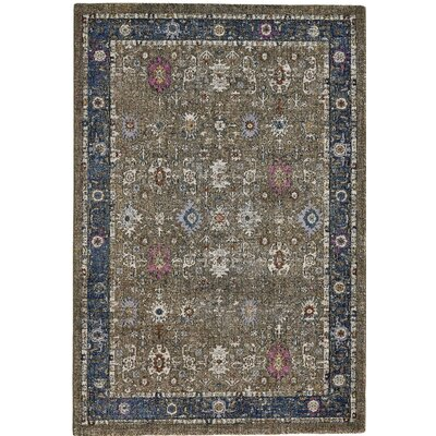 Nolan Brown Area Rug Rug Size: Rectangle 710 x 1010