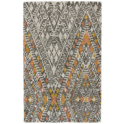 Bedford Hand-Tufted Tangerine Area Rug Rug Size: Rectangle 96 x 136