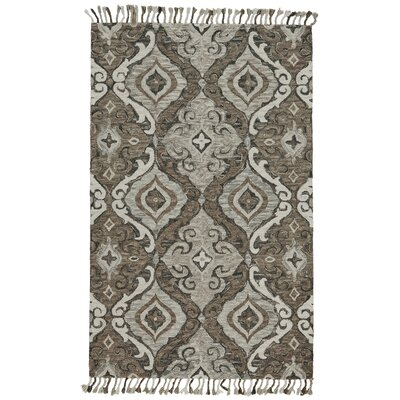 Fairhaven Hand-Tufted Ivory/Gray Area Rug Rug Size: Rectangle 2 x 3