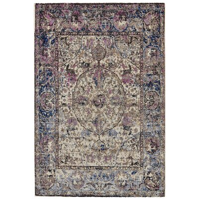 Nolan Midnight/Magenta Area Rug Rug Size: Rectangle 10 x 14