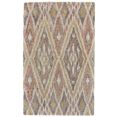 Carlotta Hand-Tufted Pink/Multi Area Rug Rug Size: Rectangle 96 x 136