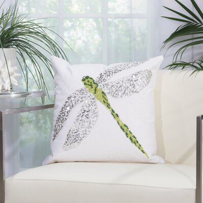 Outdoor Acrylic Throw Pillow Color: Green