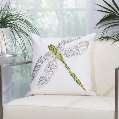 Outdoor Acrylic Throw Pillow Color: Green