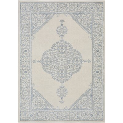 Corinna Cream Area Rug Rug Size: Rectangle 5 x 76