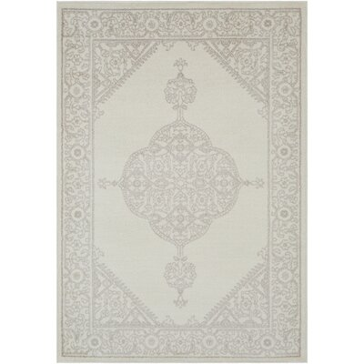 Corinna Beige/Gray Area Rug Rug Size: Rectangle 8 x 10