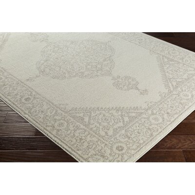 Corinna Beige/Gray Area Rug Rug Size: Rectangle 2 x 3