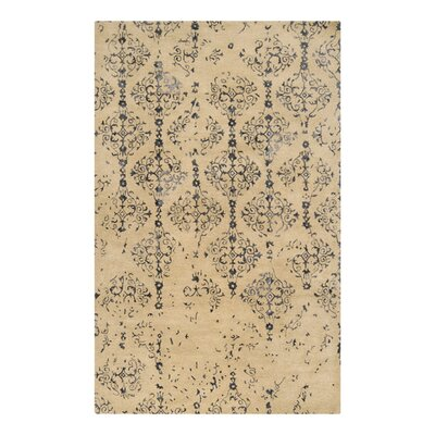 Osvaldo Khaki Area Rug Rug Size: Rectangle 33 x 53