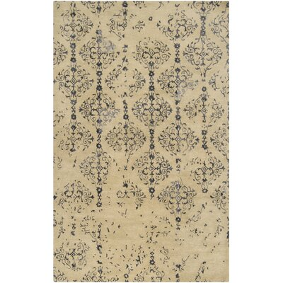 Osvaldo Khaki Area Rug Rug Size: Rectangle 5 x 8