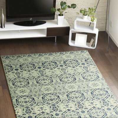 Felicienne Silver Area Rug Rug Size: 5 x 77
