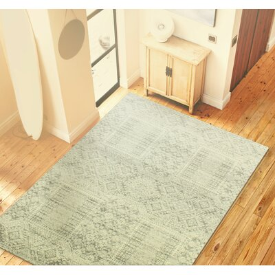 Arlingham Silver Area Rug Rug Size: 5 x 77