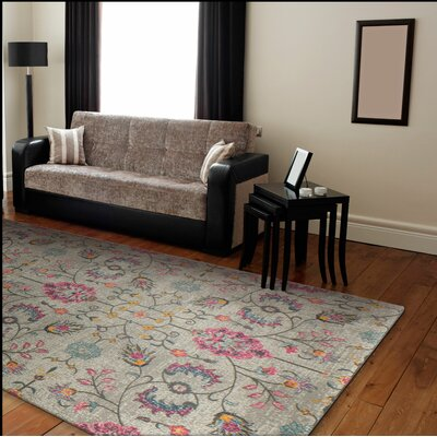 Blackwell Gray Area Rug Rug Size: 37 x 57