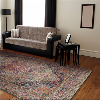 Blackwell Multi-Colored Area Rug Rug Size: 77 x 97