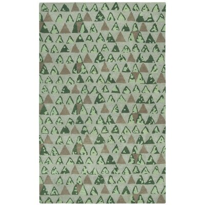 Lisbon Beach Pyramid Area Rug Rug Size: Rectangle 8 x 11