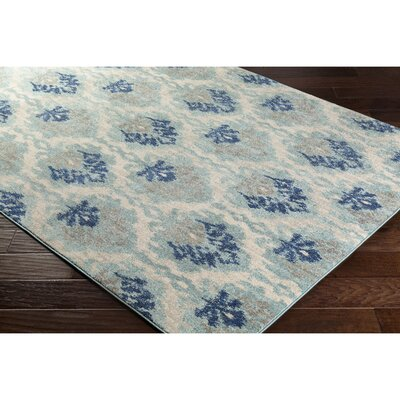 Andover Blue Area Rug Rug Size: Rectangle 2 x 3
