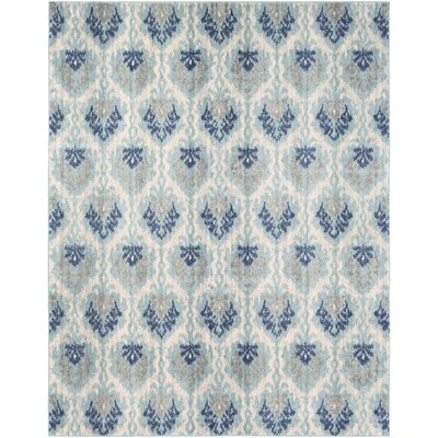Andover Blue Area Rug Rug Size: Rectangle 710 x 103