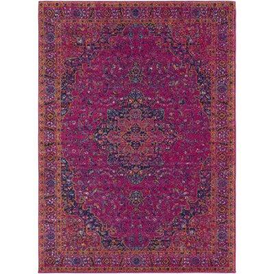 Hillsby Tibetan Pink Area Rug Rug Size: 311 x 57