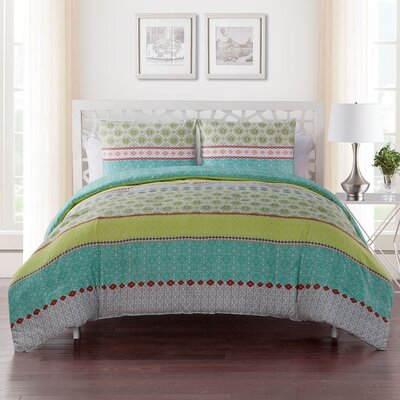 Nassirah Embellished Duvet Set Size: Twin/Twin XL