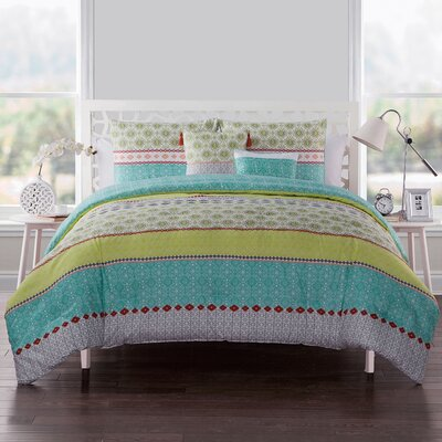 Nassirah Embellished Comforter Set Size: Twin/Twin XL