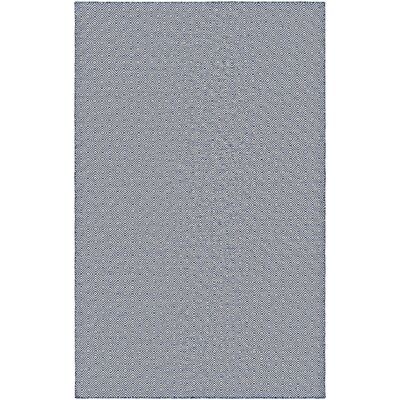 Alonso Hand-Woven Gray Indoor/Outdoor Area Rug Rug Size: Rectangle 8 x 10