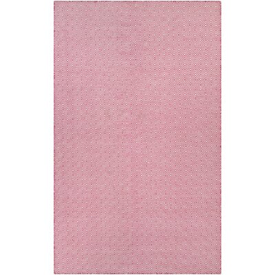 Alonso Hand-Woven Pink Indoor/Outdoor Area Rug Rug Size: Rectangle 3 x 5