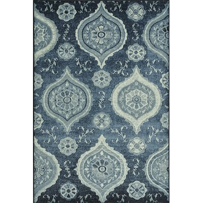 Birtha Blue Denim Area Rug Rug Size: Rectangle 33 x 51