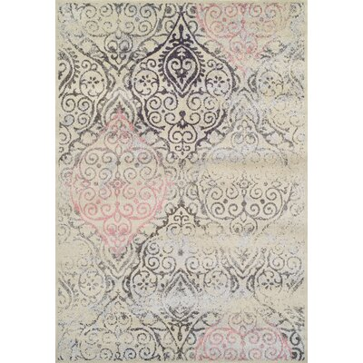 Theodora Linen Area Rug Rug Size: Rectangle 96 x 132