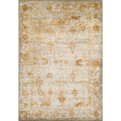 Forsythia Tangerine Area Rug Rug Size: Rectangle 710 x 107